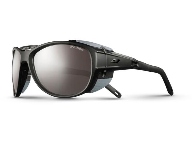 Julbo Expl*** 2.0 Spectron 4 Sunglasses matt black/gray-brown flash silver